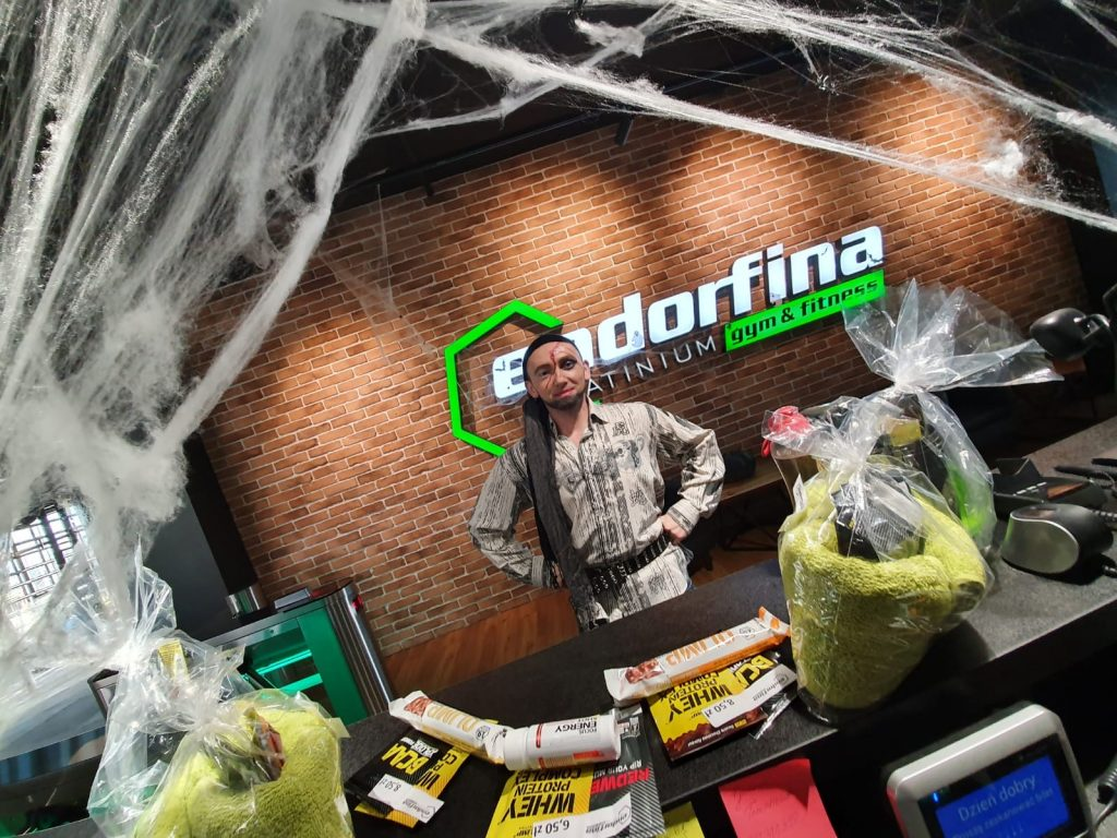 Halloween w klubie Endorfina-Kielce