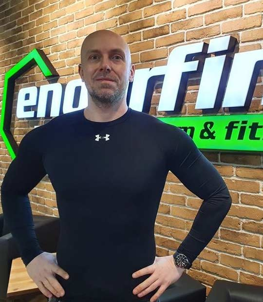 Grzegorz - Instruktor Endorfina Kielce